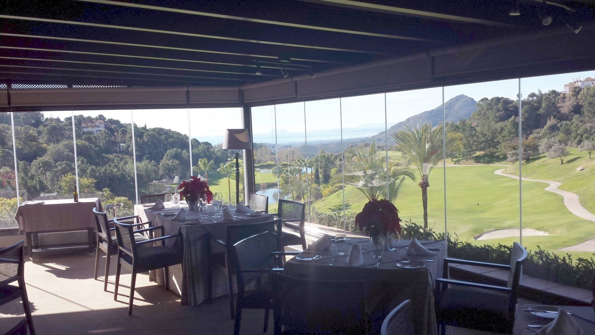 la zagaleta country club restaurant view