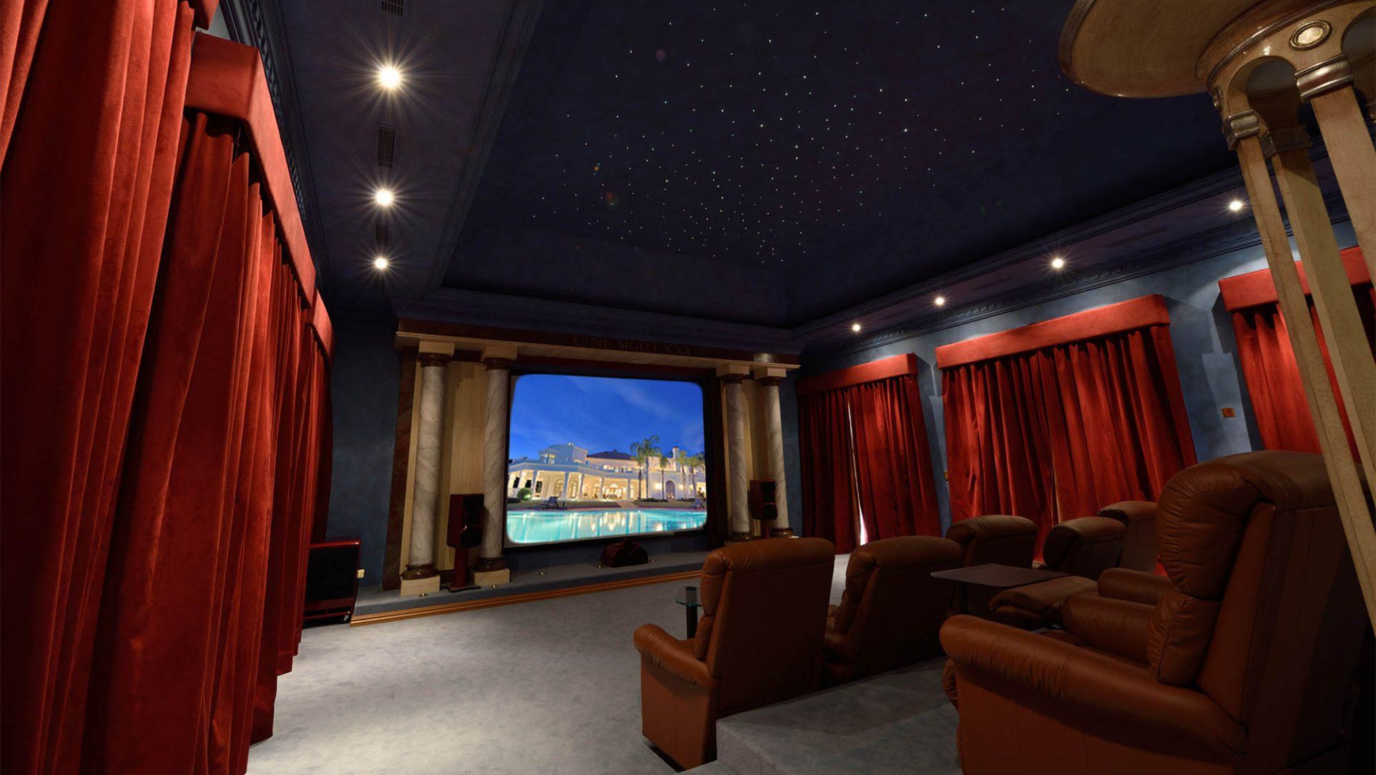 la zagaleta villa cinema
