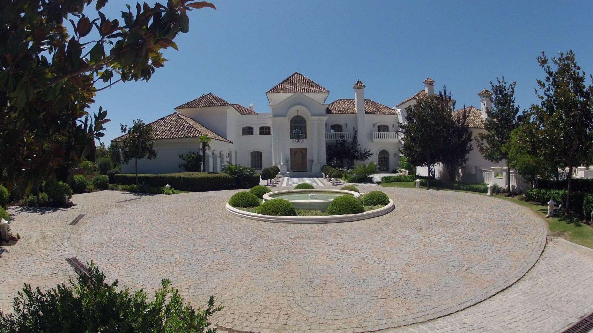 la zagaleta villa for sale grand entrance
