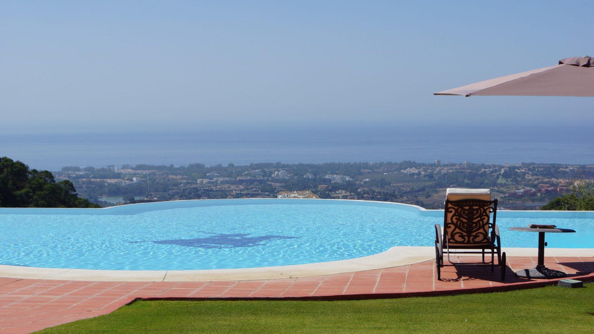 la zagaleta villa for sale pool with views